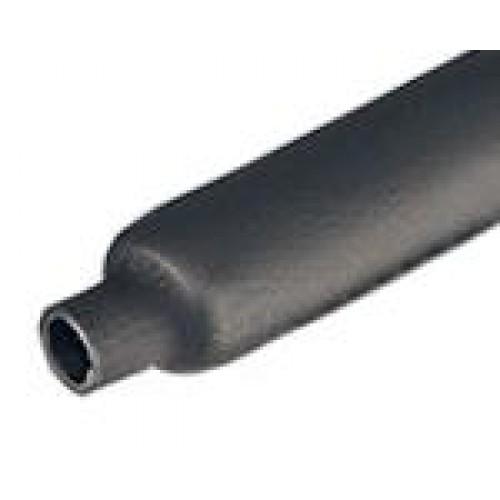 Трубка термоусаживаемая ТТК(4:1)-32/8мм, черная, с клеевым подслоем, длина 1000 мм, КВТ