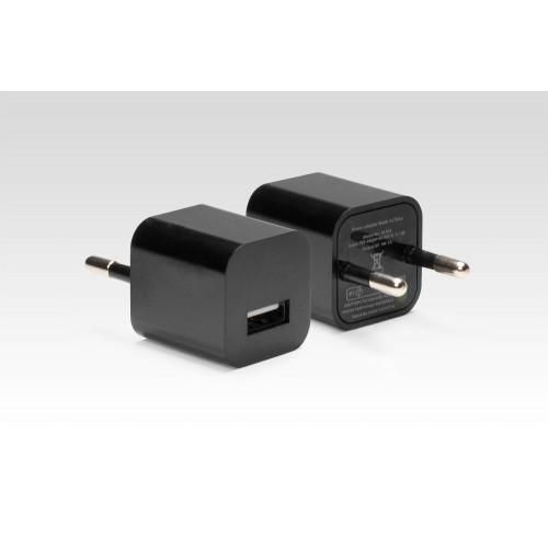 Ультракомпактное зарядное устройство на 5W для Apple iPhone, iPad, Samsung Galaxy, Xiaomi, Huawei, LG, Sony и др. Замена: MD813ZM, MD836ZM. Черный.