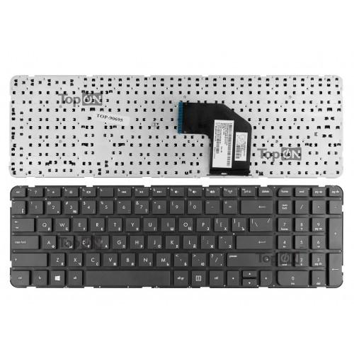Клавиатура для ноутбука HP Pavilion G6-2000, G6-2100, G6-2200 Series. Плоский Enter. Черная, без рамки. PN: AER36700010.