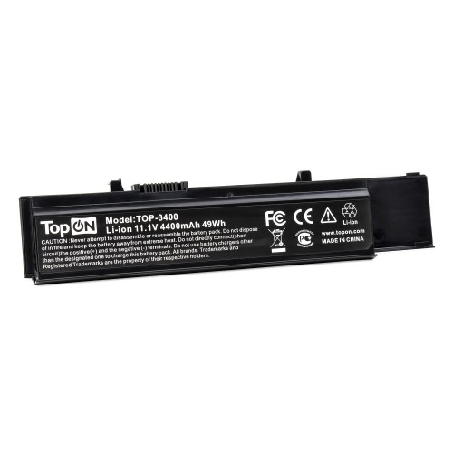 Аккумулятор для ноутбука Dell Vostro 3400, 3500, 3700 Series. 11.1V 4400mAh 49Wh. PN: Y5XF9, CYDWV.
