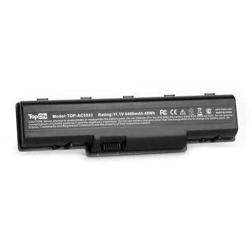 Аккумулятор для ноутбука Acer Aspire 4732, 5334, 5516, eMachines D525, D725, E525 Series. 11.1V 4400mAh 49Wh. PN: AS09A31, AS09A41.