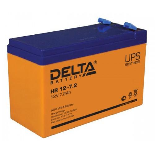 Аккумуляторная батарея Delta HR 12-7,2 (12V; 7,2Ah)
