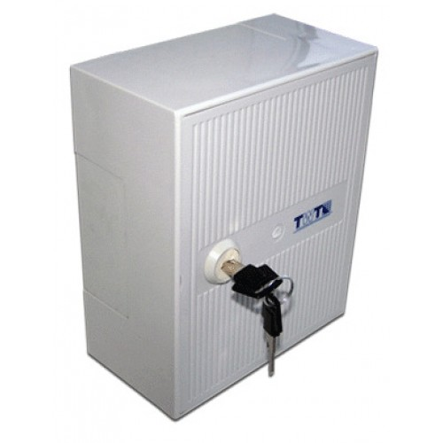 Коробка распределительная на 3 плинта (30 пар), с замком TWT-DB10-3P/K