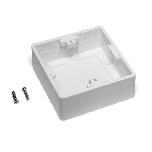 Настенная коробка под рамку французского стандарта 45x45, белая TWT-WMB45x45-WH