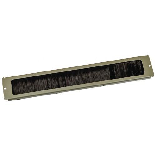 Щеточный кабельный ввод для напольных шкафов Eco TWT-CBE-BP