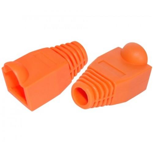 Защитный колпачок RJ-45, оранжевый, TWT, 100 шт. в упак. TWT-BO-6.0-OR/100