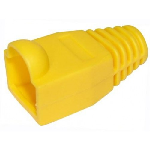 Защитный колпачок RJ-45, желтый, TWT, 100 шт. в упак. TWT-BO-6.0-YL/100