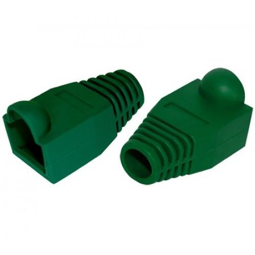 Защитный колпачок RJ-45, зеленый, TWT, 100 шт. в упак. TWT-BO-6.0-GN/100