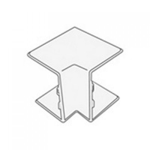 Угол внутренний для кабель-канала 40х25, белый, T-plast