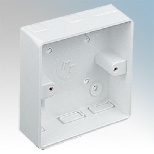 Монтажная коробка на стену 1G MMT1/MMT2L.H.,R.H. (шт.)