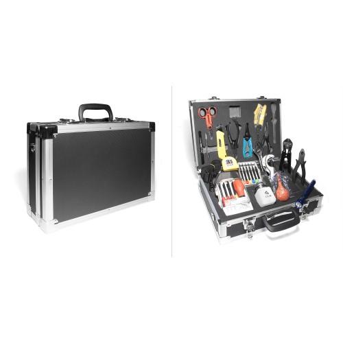 Набор инструментов для работы с оптическим кабелем