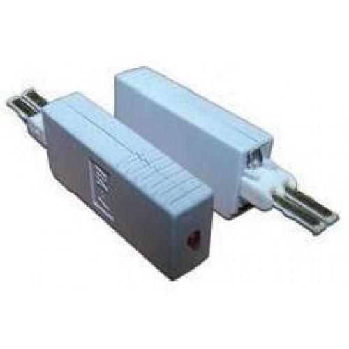 Штекер комплексной защиты для 1 пары, 260В, 10А/10Ка, с индикатором TWT-SAU2-260-10-10K