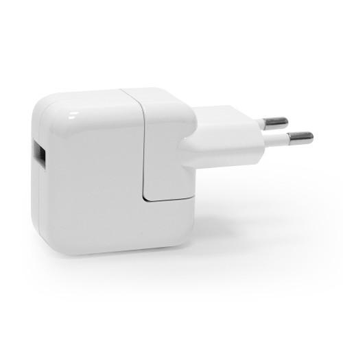Ультракомпактный сетевой адаптер питания 2.1A для зарядки Apple iPhone, iPad, Samsung Galaxy, Xiaomi, Sony и др. Замена: MD813ZM, MD836ZM. Белый.