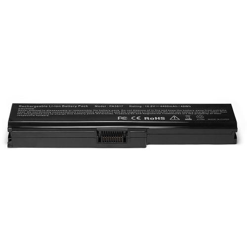 Аккумулятор для ноутбука Toshiba Satellite A660, C600, C645, C660, L515, L630, L700 Series. 10.8V 4400mAh PN: PA3634U-1BAS, PA3635U-1BAM