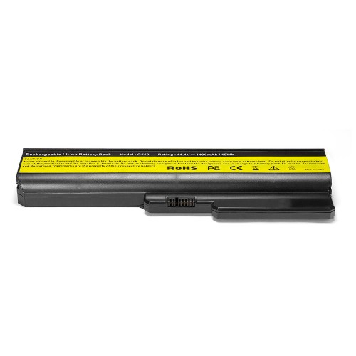 Аккумулятор для ноутбука IBM Lenovo IdeaPad G555, G550, G530, B550, G430, G455, B460, G450 Series. 11.1V 4400mAh PN: 51J0226, L0804C02