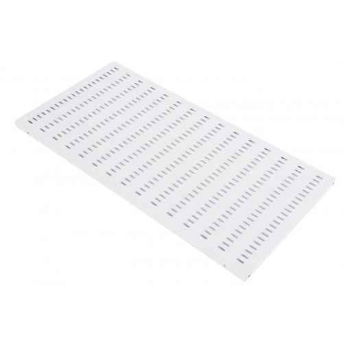 Полка ЦМО СВ-У, стационарная, 1U, 496х1000х25 (ШхГхВ), для шкафов и стоек, цвет: серый СВ-100У