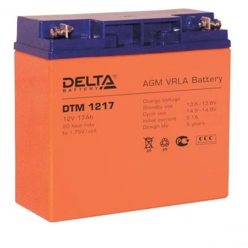 Аккумуляторная батарея Delta DTM 1217 (12V; 17Ah)