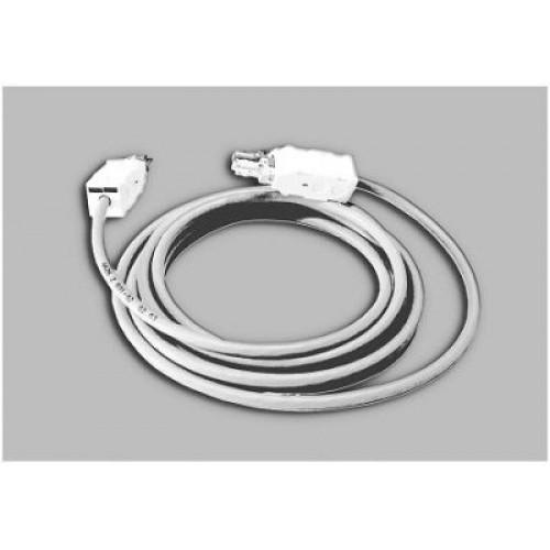 Шнур соединительный 2/6 для 3-х проводных линий,  2м