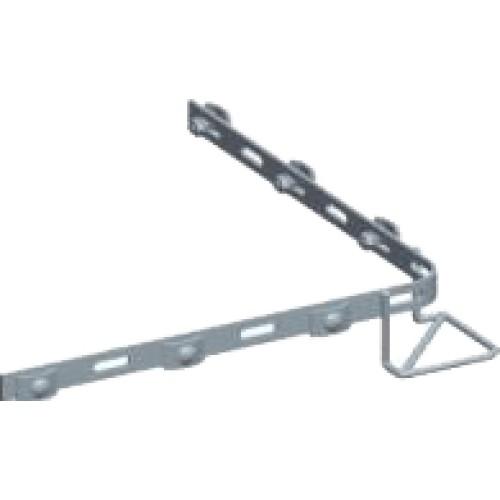 Соединитель угловой скругленный для лотка MT100