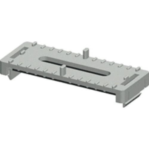 Фиксатор кабеля Ф6мм, наборный, пластик