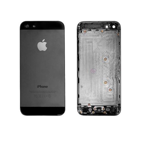Задняя панель, корпус для смартфона Apple iPhone 5, A+. Черная.