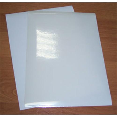 Пленка самоклеящаяся для печати на лазерном принтере, л.А4, прозрачная