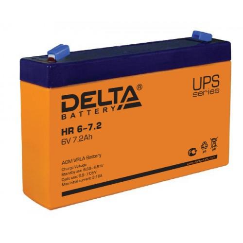 Аккумуляторная батарея Delta HR 6-7.2
