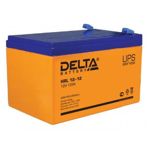 Аккумуляторная батарея Delta HRL 12-12
