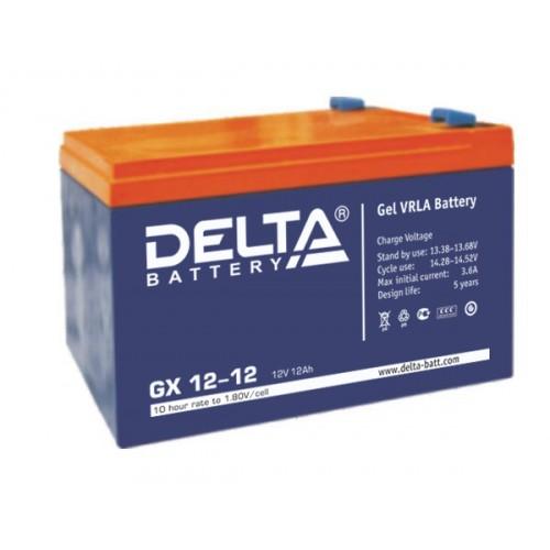 Аккумуляторная батарея Delta GX 12-12