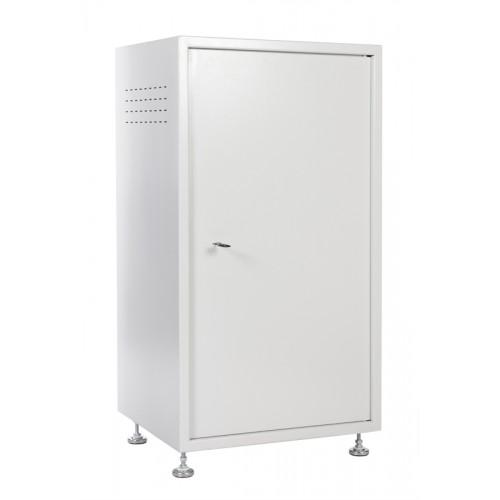 Шкаф напольный ЦМО 18U 880х600х525 антивандальный серый ШТК-А-18.6.5