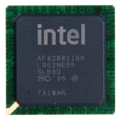 Южный мост Intel SLB8Q, AF82801IBM (2010)