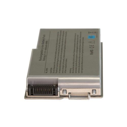 Аккумулятор для ноутбука Dell Inspiron 500m, 510m, Latitude D500, D505, D520, D600 Precision M20 Series. 11.1V 4400mAh PN: M9014, 0X217 Серебряный