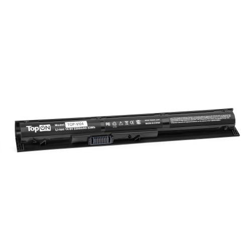 Аккумулятор для ноутбука HP 15, 17, Pavilion 15, 17, ProBook 450 G2, 455 G2 Series. 14.8V 2200mah PN: VI04, TPN-Q142